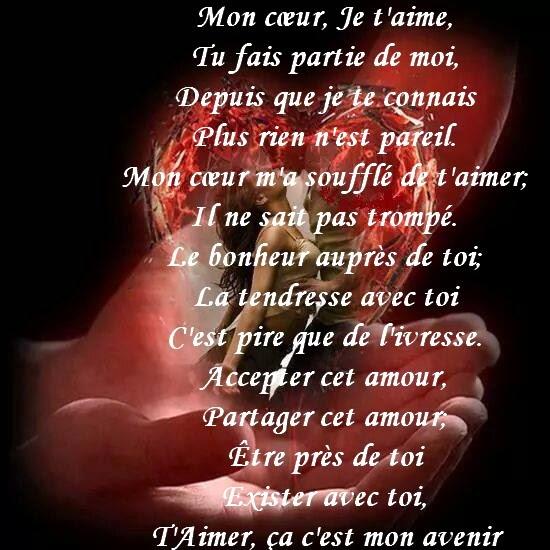 Image texte - Image de coeur damour ...